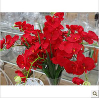 Wholesale High count artificial flowers butterfly orchid corsage
