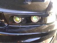 Wholesale Carbon Fiber Headlight Eyebrows Eyelids Covers for1997 Mitsubishi Galant