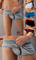 sexy men man men's - sexy mesh shorts for men colors mixed Men s sports suit fashion tank tops and boxer shorts free sh