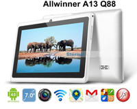 Wholesale Hot sell cheapest Q88 allwinner a13 android Capacitive Screen M GB WIFI Camera Business tab