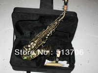 Wholesale New Arrival Antique Soprano Saxophone with Case