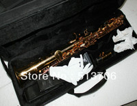 Wholesale Advanced YSS475 Golden Soprano Saxophone with case New Arrival