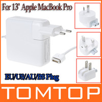 Wholesale For Apple quot MacBook Pro W Replacement Magsafe AC Power Adapter Charger EU AU US BS Plug C1622EU