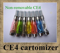 Non-Replaceable ego cigarette - CE4 ml atomizer cartomizer ego CE4 ego t ego w e cigarette for all ego series CE5 CE6 CE7 T2