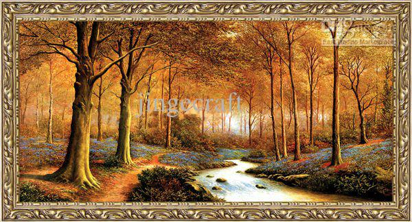 Tapestry Wall Art wall hanging gobelin tapestries,oil painting style decorative