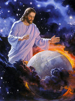 Wholesale tapestry wall hangings Christ fabric picture decoration picture