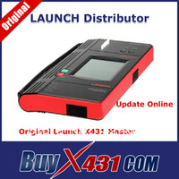 Wholesale Professional Auto Diagnostic Scanner Tool Original Launch X431 Master X Scan Tool Update Online DHL Free