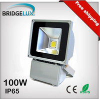 Wholesale 100W lm IP65 Waterproof AC85 V Outdoor Wall Washer Bridgelux LED Flood Light Lamp