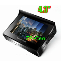 Wholesale 4 quot inch TFT Color LCD Monitor CCTV Security CCD Camera Video Test Tester V OUTPUT Fres Shipping