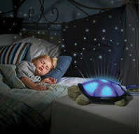 Wholesale Night Light Twilight Turtle Toy Glow in the Dark for baby sleep with music