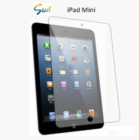 Wholesale 50pcs anti glare anti finger print matte screen protector for ipad mini without retail package