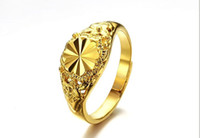 Wholesale 6 Styles K Gold Plated Ms Ring