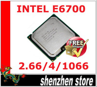 Wholesale CPU Intel Core Duo Processor E6700 M Cache GHz MHz FSB