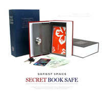 Wholesale mini book safe box Secret book dictionary book safe box security coffer Dictionary piggy bank