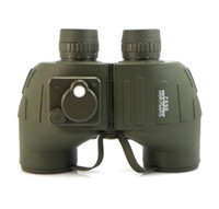 Wholesale BOSMA x50 Military Binocular telescope Compass Multi Coated Waterproof antifogging Outdoor E0137G