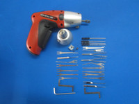 cordless tool sets - KLOM New Cordless Pick Gun locksmith tool rechargeable electric pick auto lock opener pick up sets S052 from ok360