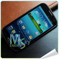 Wholesale I9300 Android4 MTK6515 GHZ inch Capacitive Screen MP Camera WIFI Smart Phone