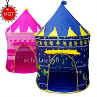 Wholesale Children Kids Play Tent toy game house princess castle palace baby beach tent