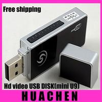 Wholesale 2013 U disk high definition video mini U9