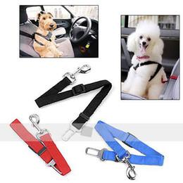 Asiento ajustable seguridad del animal doméstico del cinturón de seguridad del coche de la correa del animal doméstico para el perro Cat # 3307