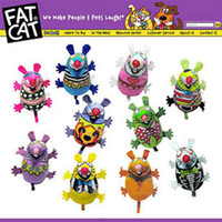 Wholesale fatcat cat pet toy with Catnip hot selling products T9206