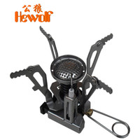 Wholesale Hewolf outdoor stoves field camping supplies Small burner