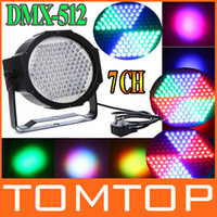 Wholesale AC V RGB LED Effect Light DMX512 CH Par Lights DMX Disco DJ Party Stage Light H9409EU