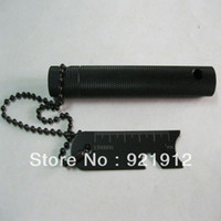other flint fire starter - 3in1 Survival Tool Magnesium Flint Fire Starter Black