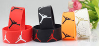 Wholesale Unique Design M Jordan Accessory Wide Band Rubber Bracelet Michael Basketball Silicone Wristbands