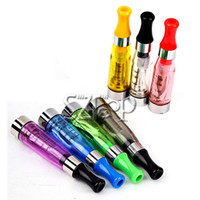 Non-Replaceable 1.6ml Plastic CE4 Clearomizer Atomizer Cartomizer CE4 ce5 ce6 Tank clear 1.6ml Vaporizer For Electronic Cigarette eGo T ,EGO k Battery (86050300220)