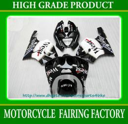 ABS Plastic Fairing kit for Kawasaki Ninja ZX7R 1996 - 2003 ZX7R ZZR 750 96 - 02 03 West black RX