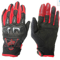 Wholesale fox bomber Motorcross Motorcycle bike Cycling Racing Gloves RED