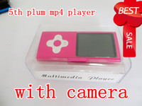Wholesale New arrival th plum MP3 Mp4 music player inch GB With Music video camera full set