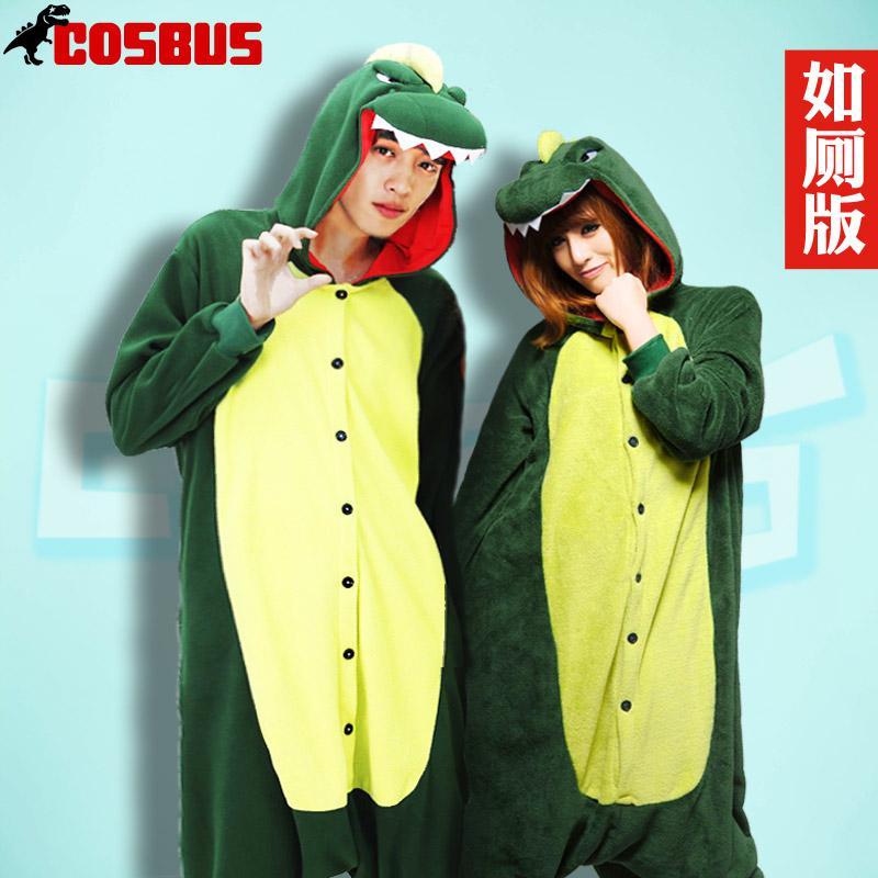 Animals pajamas pure summer dinosaur cartoon loungewear lovely couple