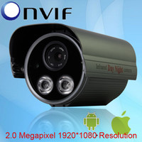 Wholesale Onvif H MegaPixel HD P x1080 Resolution Array IR CCTV Camera Network IP Camera
