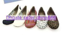 plain shoes - NEW women s Shallow mouth Leopard plain shoes canvas shoes ballet Flat casual shoes shoe pairs