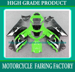 Racing fairing kit for suzuki GSXR600 K1 2001 2002 2003 GSX R600 02 03 high grade green black RX6u