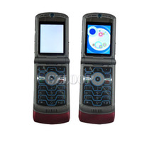 Wholesale Refurbished RAZR V3 Unlocked Quad Band Mobile Cell Phone best quality