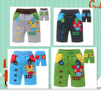 Wholesale new summerboy girls Shorts Cow patch printing Cotton terry fabrics Color DBK002