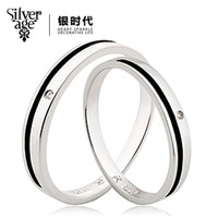 Three Stone Rings   SILVER AGE accessories clock lovers ring 925 pure silver ring