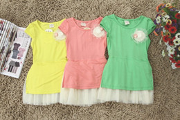 Wholesale girls gauze dress kids children cotton sleeveless dress little hat