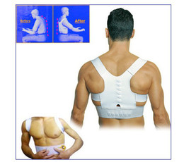 Wholesale Comfortable Magnetic Posture Back Shoulder Corrector Support Brace Belt