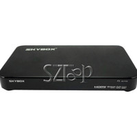 Wholesale Skybox F5 Full HD p Satellite Receiver Support USB WIFI PVR Youtube Original Brand Via DHL