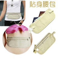 Wholesale The Global Hot stealth anti theft Waist bag personal pockets