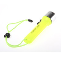Wholesale Waterproof LED Light Underwater Diving Shallow light Flashlight Torch A Battery