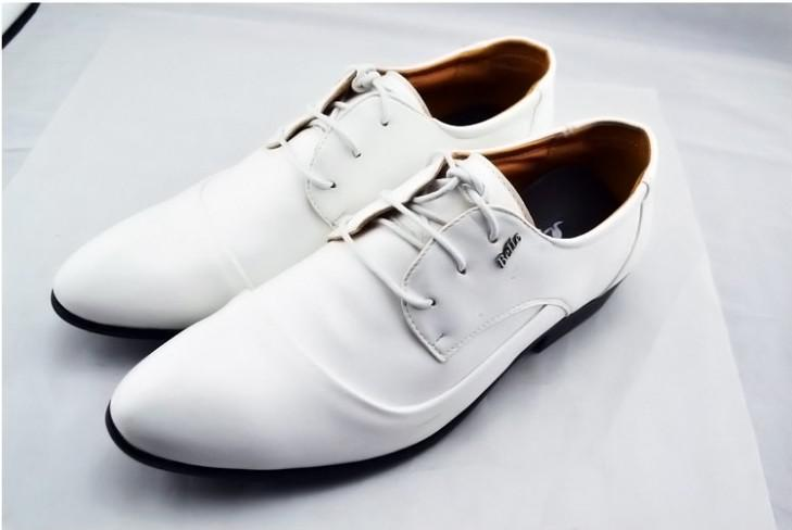 New 2015 European fashion men shoes,Cool canvas+Pu leather shoes for men