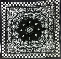 Wholesale Hoy Sale Skull Print Cotton Bandanas Head Wrap Scarf Wrist Band