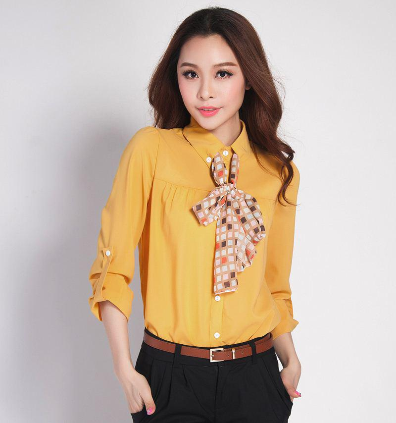 2017 Fashion New Summer Silk Women Blouse/2013 New Women's Long ...