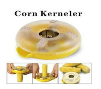Wholesale Yellow Clear Dounut Shaped One Step Corn Kernel Peeler ID
