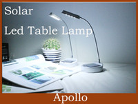 Wholesale Solar Led Table Lamp Led Desk Light Indoor Eye Protection Rechargable Reading Lights AC Charger